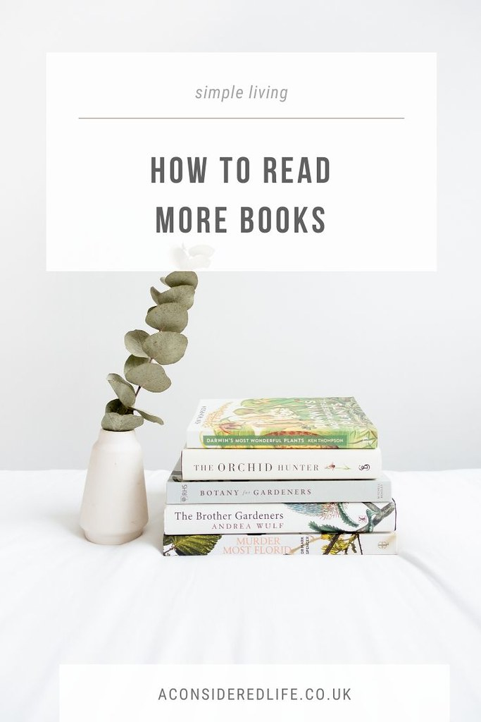 The Simple Way to Read More Books