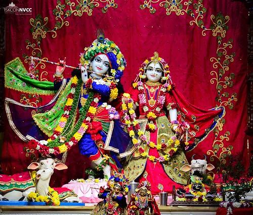 ISKCON Pune NVCC Deity Darshan 06 Jan 2020