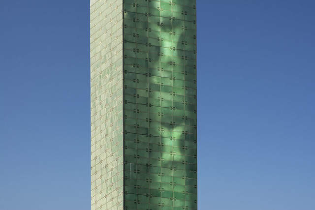Green tower