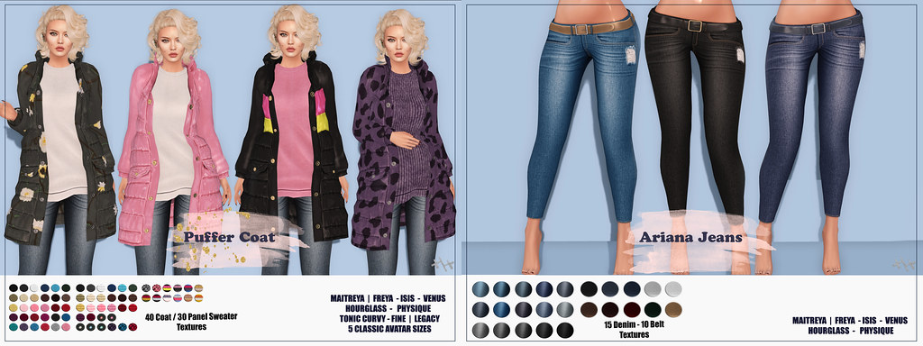 Hilly Haalan – New Puffer Coat and Ariana Jeans