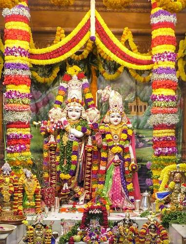 ISKCON Narasaraopet Deity Darshan 06 Jan 2020