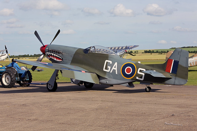 North American P-51D Mustang G-SHWN at Duxford 2016 2016-07-10 19-04-34_296 - mod et signe