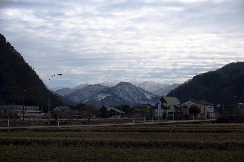 鳥越からの白山