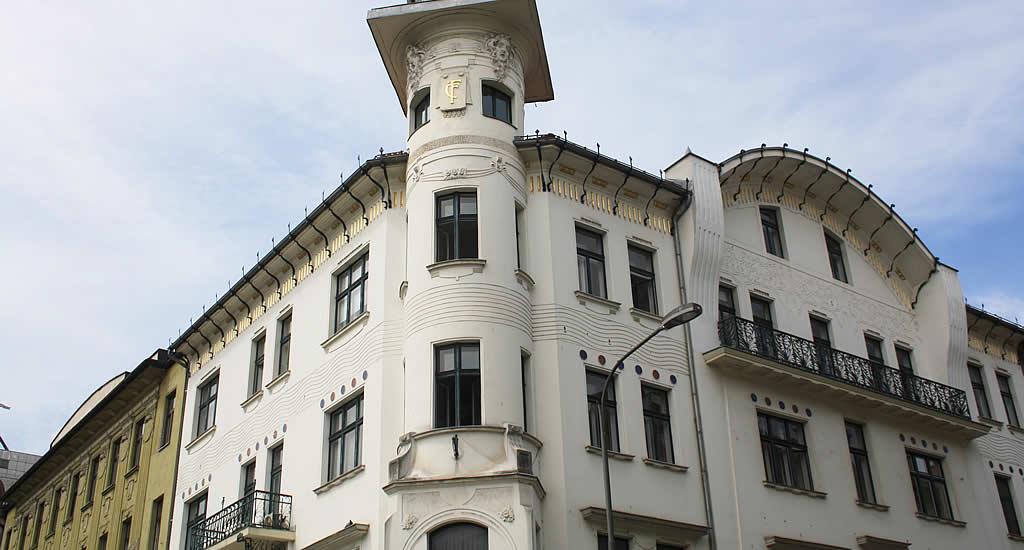 Čuden House, Art Nouveau in Ljubljana | Mooistestedentrips.nl
