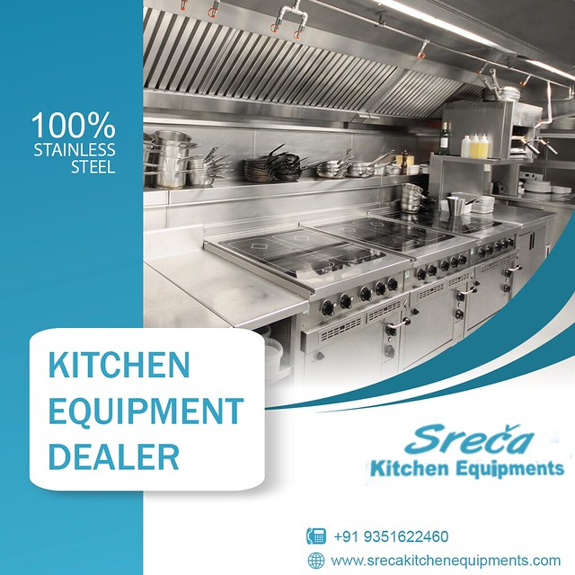 100% Stainless Steel - Serca Equipments