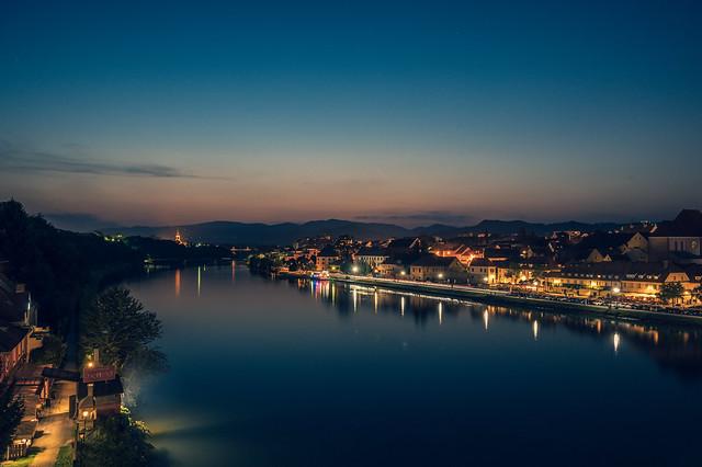 The Drava River