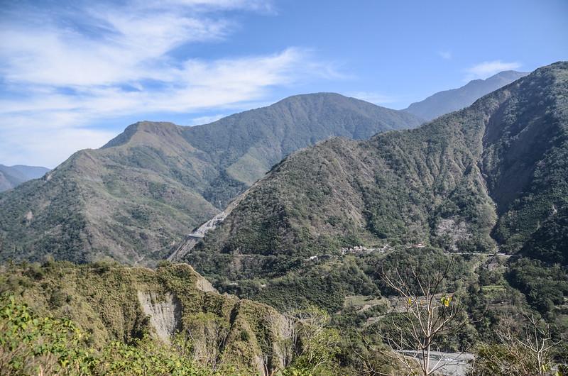 良楠山大水塔處東北望馬馬宇頓山