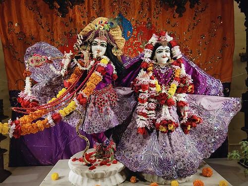 ISKCON Rajkot Deity Darshan 06 Jan 2020