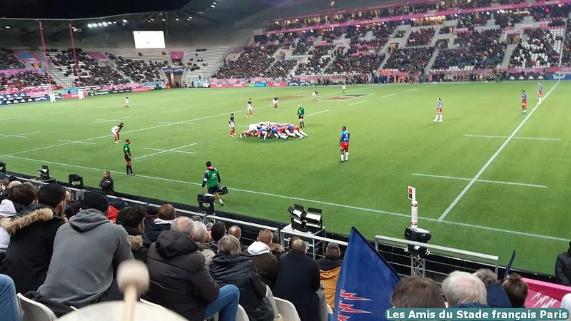 Stade vs Toulouse - 5 janvier 2020