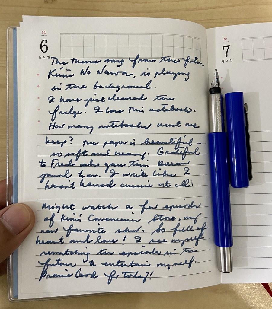 Day journal no. 1