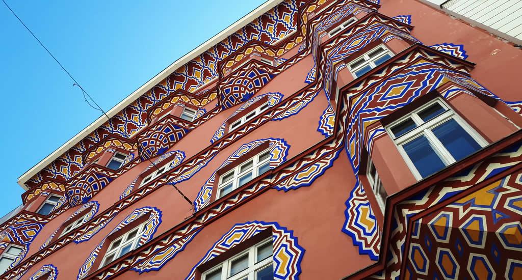Art Nouveau in Ljubljana: Vurnik House | Mooistestedentrips.nl