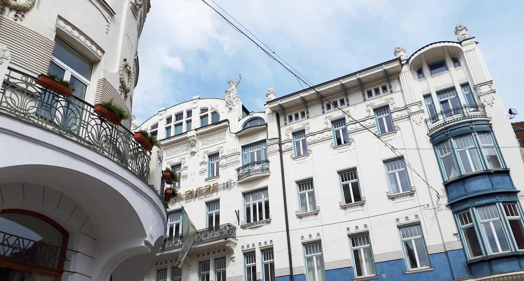 People's Loan Bank, Art Nouveau in Ljubljana | Mooistestedentrips.nl