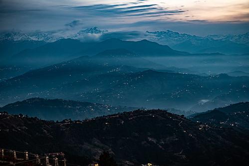 kathmandunepal2020 nepal sunrise bagmatizone baluwapatideupur view nagarkot
