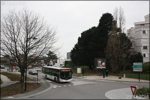Man Lion's City – Semitan (Société d'Économie MIxte des Transports en commun de l'Agglomération Nantaise) n°7858 / TAN (Transports en commun de l'Agglomération Nantaise) n°9090