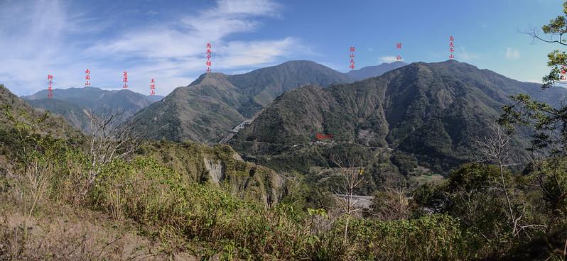 良楠山海拔1080m處東望 1-1
