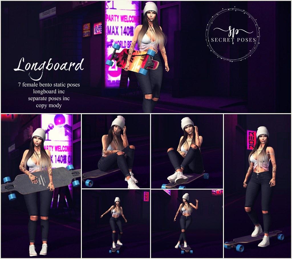 Secret Poses – Longboard