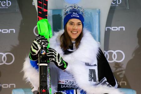 Světový pohár 2019/20: Petra Vlhová v top 5 lyžařské historie