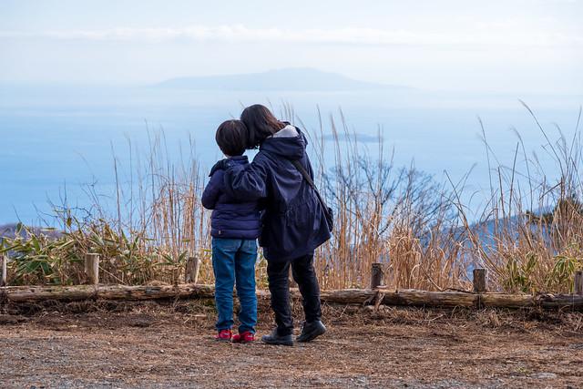 伊豆大島眺望