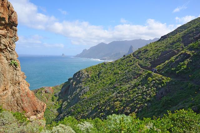 Afur route, Anaga, Tenerife