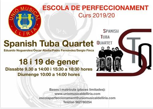 Spanish Tuba Quartet Llíria 2020