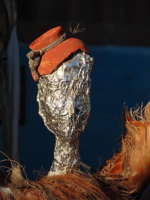 Giacometti Statue At Dawn