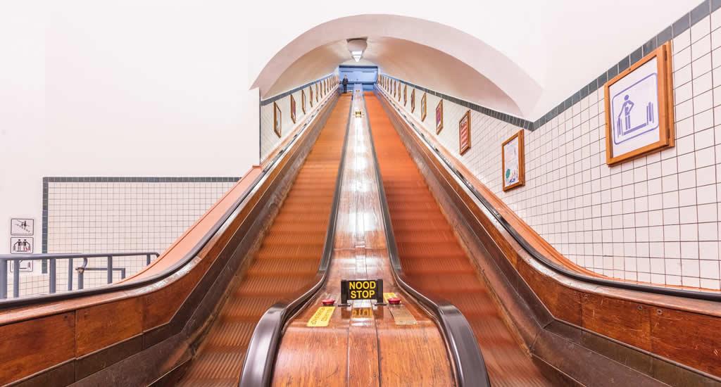 Bezienswaardigheden Antwerpen: St. Annatunnel | Mooistestedentrips.nl