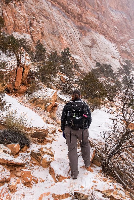 Climbing The Trail