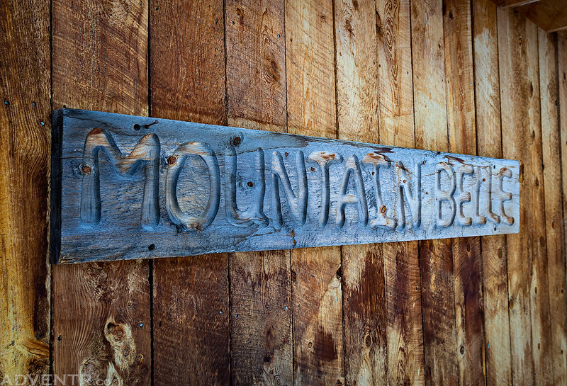 Mountain Belle Sign