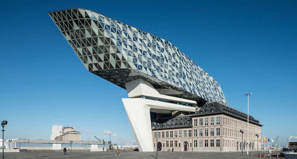 Bezienswaardigheden Antwerpen: Havenhuis | Mooistestedentrips.nl