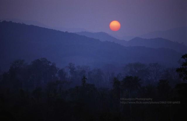 Muang Xai, Sunset