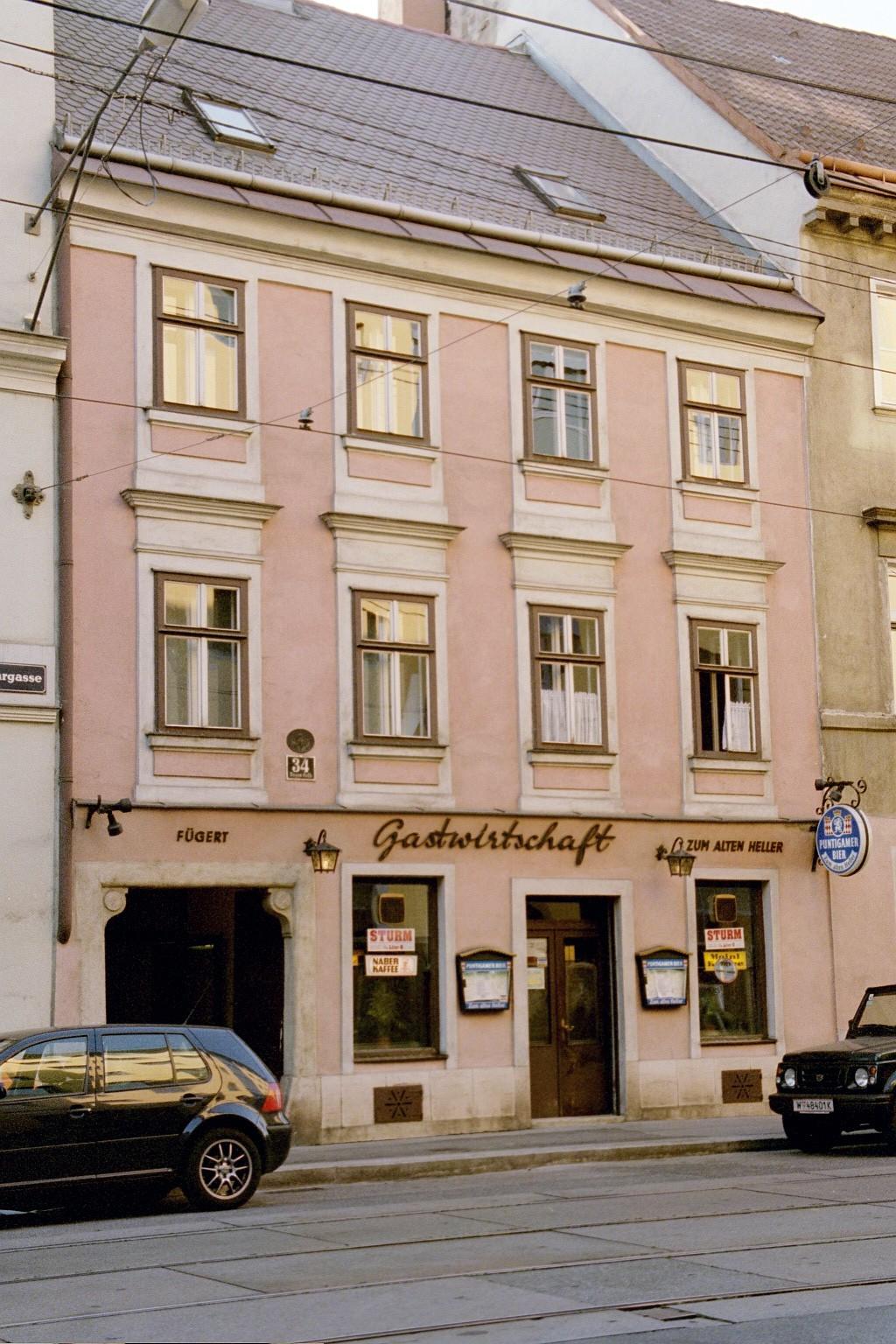 Gastwirtschaft zum Alten Heller, Ungargasse 34, 2001