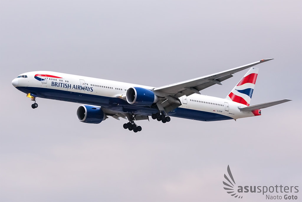 B777-300ER de British Airways