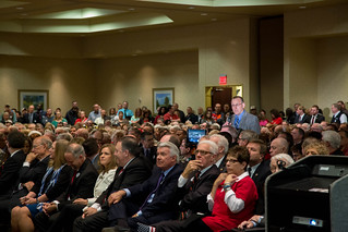 Dr. Carl Heilman testifies of Kansas higher education