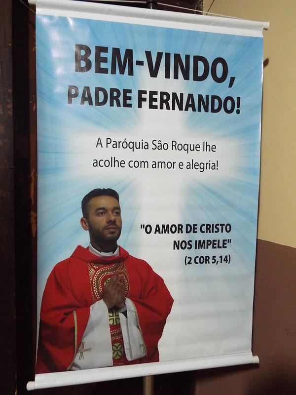 Posse do Pe. Fernando Gonçalves na Paróquia São Roque - Cecap