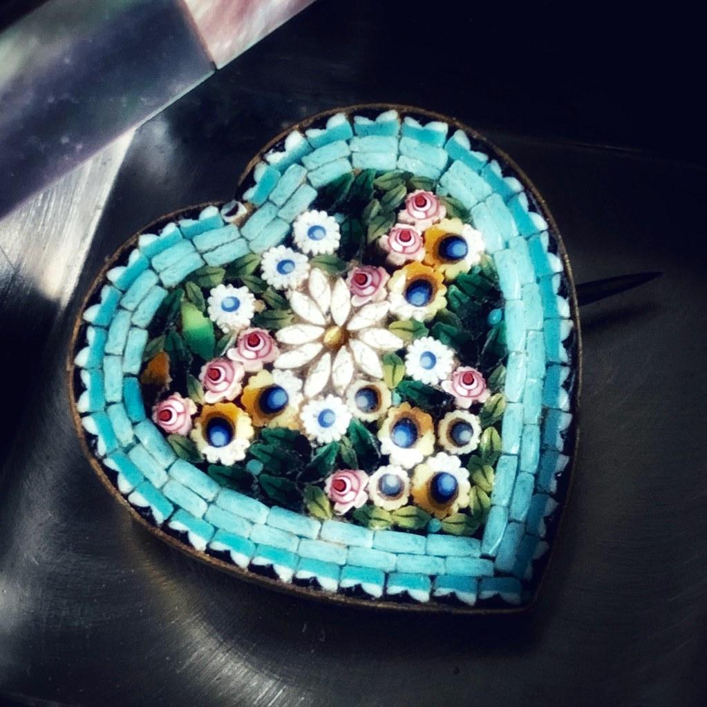Millefiori Heart
