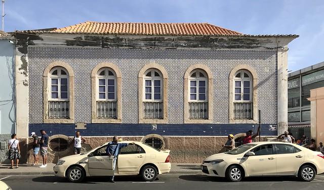 Colonial building in Praia (Santiago, Cabo Verde 2019)
