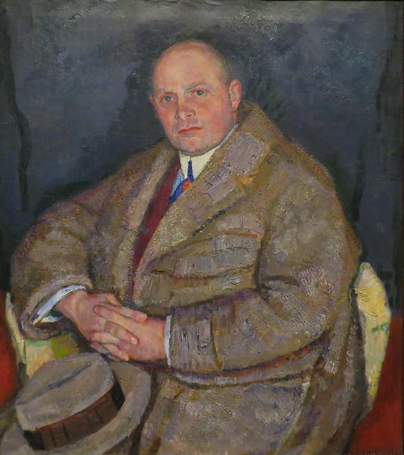 Jan Sluijters - Portrait of Piet Boendermaker (1914)