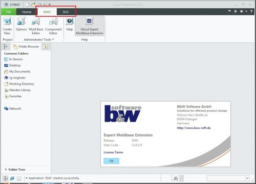 Working with PTC Creo EMX 12.0.1.0 for Creo 6.0 full license
