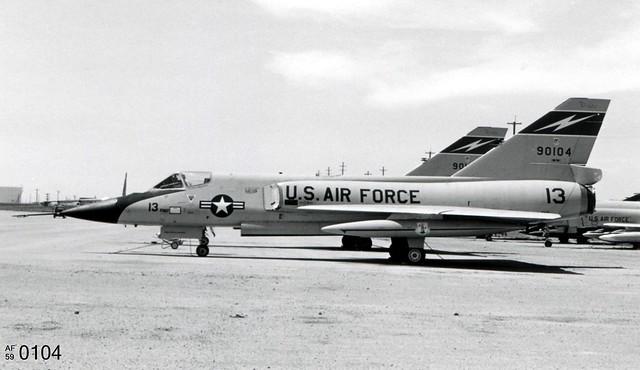 159th FIS Convair F-106A Delta Dart 59-0104