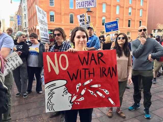 Manifestazioni contro la guerra negli Usa