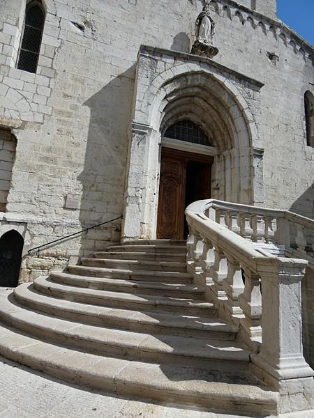 la cathédrale de Grasse