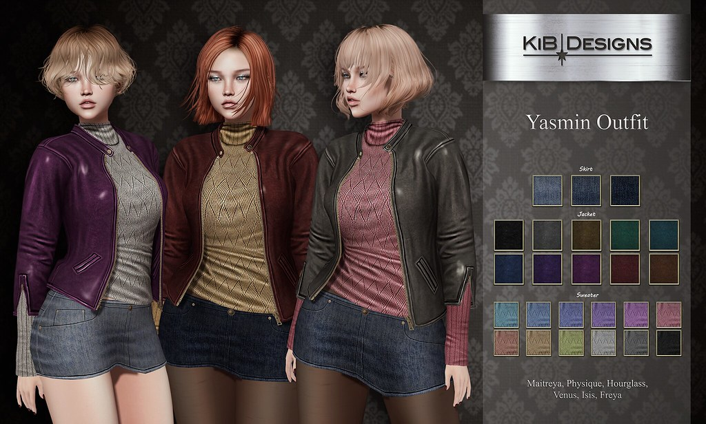 KiB Designs – Yasmin Outfit @AnyBody Event