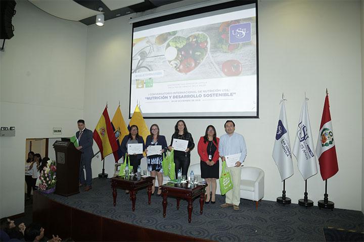 La carrera de Nutrición y Dietética ofreció el I Conversatorio Internacional de Nutrición USIL