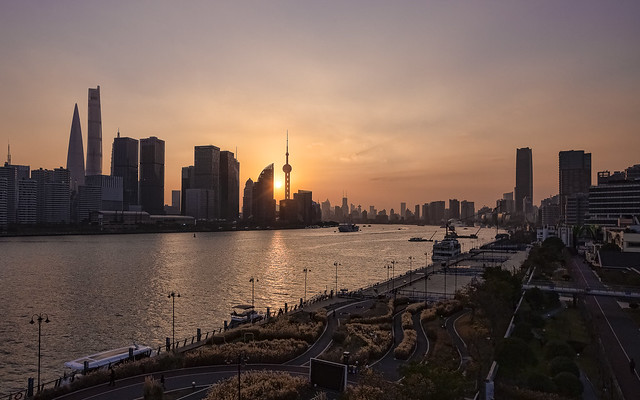 Shanghai from North Bund
