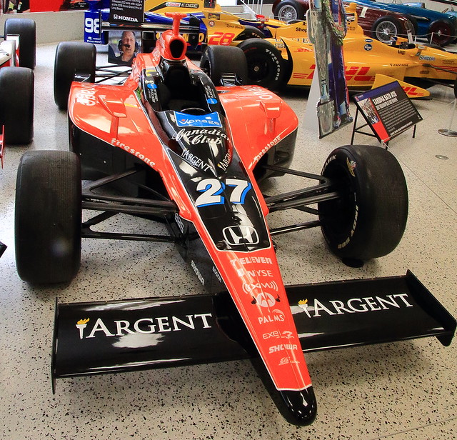 Winning Car Driven by Dario Franchitti, (Indianapolis 500 - 2007), Indianapolis Motor Speedway Museum -  Speedway, Indiana