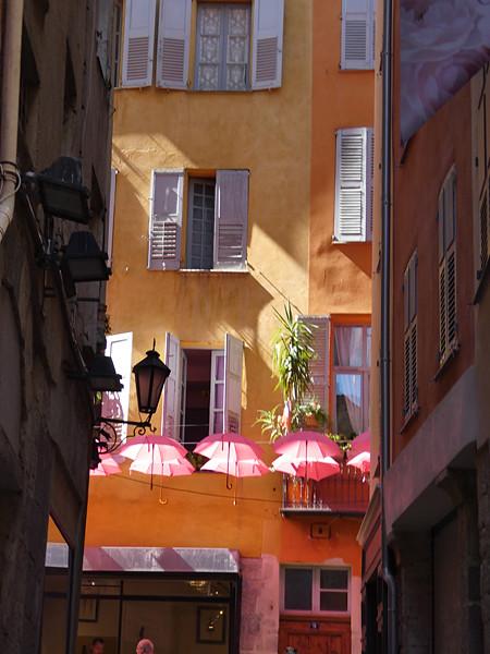 les parapluies de Grasse