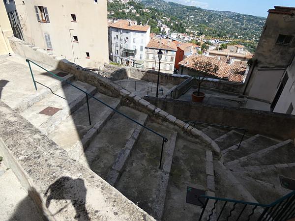 escalier de Grasse