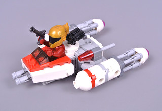 Review: 75263 Resistance Y-wing Starfighter Microfighter