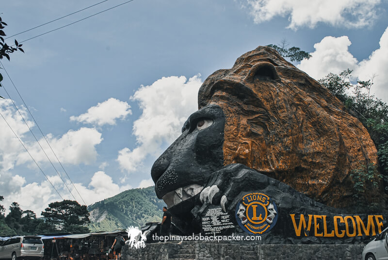BAGUIO TOURIST SPOT: LION'S HEAD