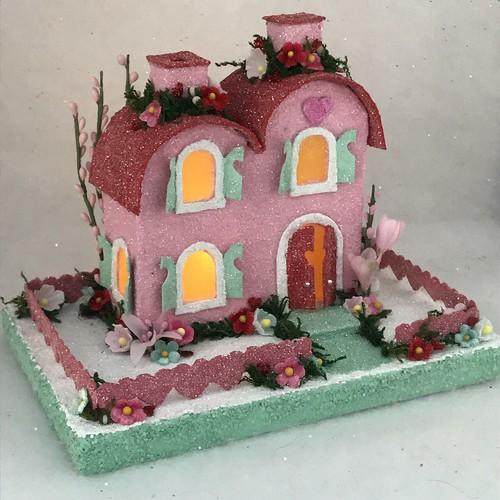 ORIGINAL size Valentine Putz house